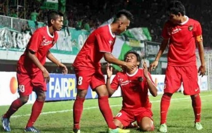 U-19 vs PSIS Semarang Imbang 1-1