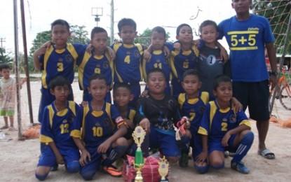 SSB Bida Taruna Juara Pertama Turnamen U-10
