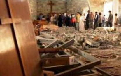 ISIS Hancurkan Gereja dan Mengancam Hukum Mati 2,6 Juta Jiwa Umat Kristen