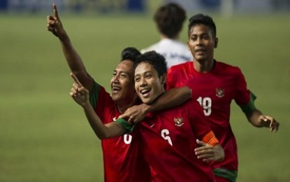 Timnas Indonesia U-23 Pecundangi Filipina 2-0