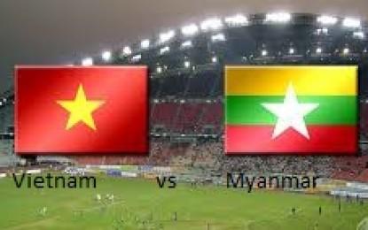 Myanmar U-23 Tumbangkan Vietnam 2-1