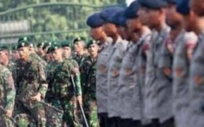 Polri dan TNI Amankan Perayaan Hari Natal
