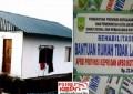 Proyek Dinsos Batam Pembangunan RTLH Diduga Korupsi