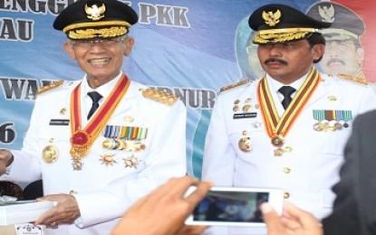 HM Sani dan H Nurdin Basirun Berjanji Membangun Kepri Bersama-sama