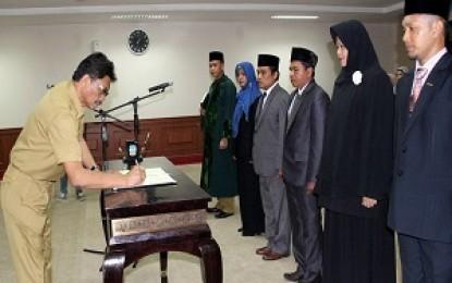 Pengurus KPPAD Kepri Periode 2016-2021 Dilantik