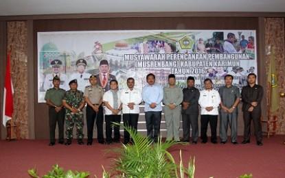 Wagub Harafkan Pemerintah Daerah Utamakan Kebutuhan Masyarakat