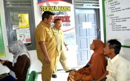 Bupati Bintan Tinjau Pelayanan Puskesmas dan Kantor Kelurahan