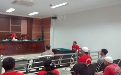 Berlayar Tanpa SPB , Kapal Bermuatan Berat Ditangkap Pol Air