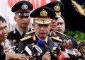 Badroidin Haiti Serahkan Jabatan Kapolri Kepada Jenderal Tito Karnavian