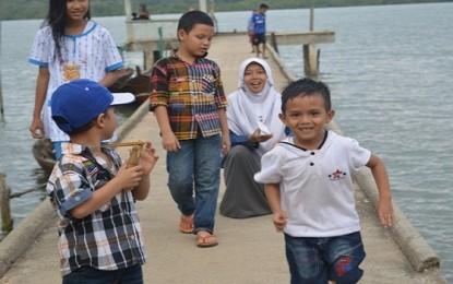 Dermaga Merindu Desa Tanjung Batu Kecil