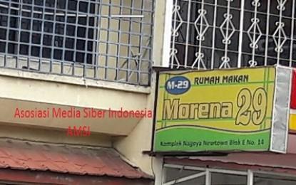 Rumah Makan Morena 29 ,  Tempat  Transaksi  Pekerja Seks Komersial