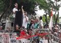 """Ribuan Warga Batam Tergabung Dalam """" Melayu Melawan """"  Berdemo , Tuntut  UWTO Dihapuskan"""
