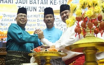 Ketua DPRD Batam , Pimpin Rapat Paripurna Istimewa Sempena Hari Jadi Batam Ke-187