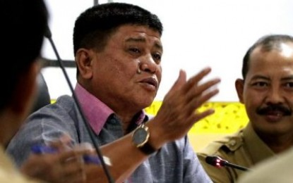 Wakil Bupati Bintan Drs H  Dalmasri Syam, Pimpin Rapat Persiapan MTQ   2017