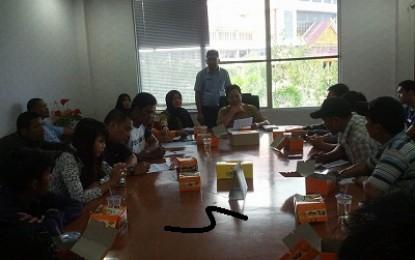 Humas DPRD Batam Silaturahmi Bersama Pengelola Media Online