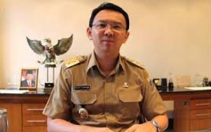 Cuti Kampanye Habis , Ahok Kembali Bertugas Sebagai Gubernur DKI
