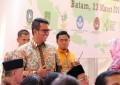 Bupati Bintan H. Apri Sujadi , Hadiri Kunjungan Presiden ke Batam
