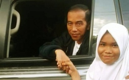 Presiden Joko Widodo , Kunjungi Mandailing Natal