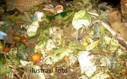 Sampah Tak Diangkut , PKL Ini Mengeluh