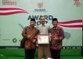 Pemkab Lingga Dapat Penghargaan Baznas Award 2017