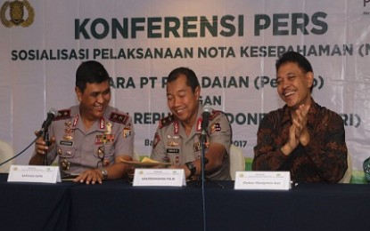 Polda Kepri Adakan Sosialisasi MoU dengan PT. Pegadaian
