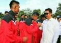 Bupati Bintan Lepas PS Bintan U-17 dan U-15 Berlaga di Yogyakarta
