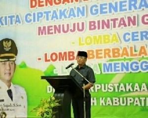 Wakil Bupati Bintan : Pelajar Teruslah Berlomba Dalam Kreatifitas