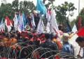 Ratusan Buruh Kota Batam Demo , Tuntut UMS Dinaikkan