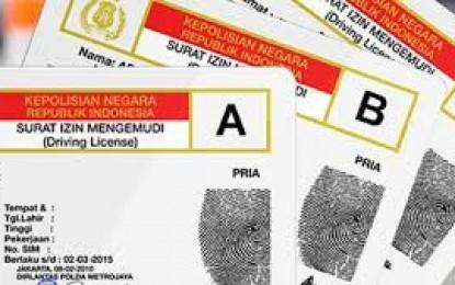 Pembuatan SIM A Umum Secara Kolektif Hanya Berbiaya Rp.100 Ribu