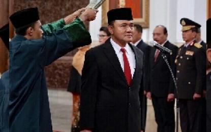 Irjen Pol Heru Winarko Dilantik Sebagai Kepala BNN Gantikan Budi Waseso
