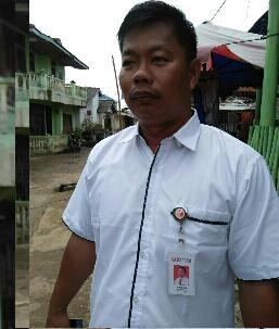 Ketua Panwaslu Kecamatan Bintan Pesisir , Aswan.foto potretkepri.com ( firdaus).