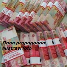 Dana propaganda.foto ilustrasi
