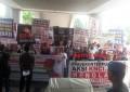 KNCI Unjuk Rasa di DPRD Tolak Pembatasan 3 Nomor 1 Nik Oleh Kemkomimfo