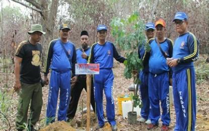 Tagana laksanakan apel siaga dan penanaman pohon di Hutan Lindung
