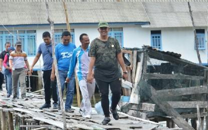 Pergunakan Dana Desa , Lakukan Pembangunan dan Perbaiki Infrastruktur
