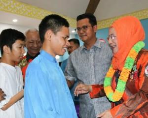 Ketua Umum DPN Srikandi Pemuda Pancasila Apresiasi Program Sekolah Gratis Bintan
