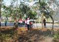 Sekertariat DPRD Lakukan Goro , Dukung Program Pemko Batam Menanam Sejuta Pohon