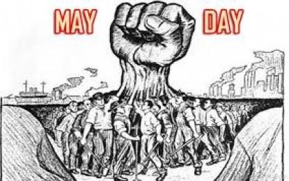 Peringati Hari Buruh se Dunia , Disnaker Tpi Gelar Senam Bersama