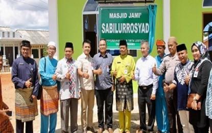 Masjid Jami Sabilurrosyad diresmikan Pj Walikota