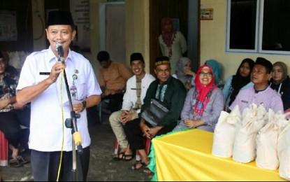 Indahnya Berbagi di Bulan Ramadhan, Pemko Tanjungpinang Bagi 2.443 Paket Sembako