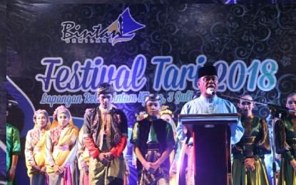 Sanggar Tuah Pusaka Juara I Festival Tari Tingkat Kabupaten Bintan
