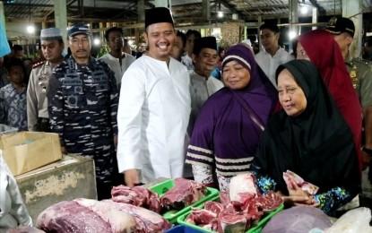 Sepekan Jelang Idul Adha, Harga Daging Sapi Stabil, Komoditi Cabai Turun