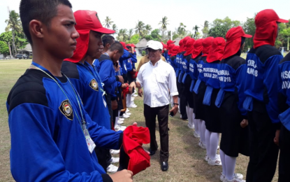 Jelang Perayaan HUT RI, Wakil Bupati Bintan Tinjau Persiapan Anggota Paskibraka
