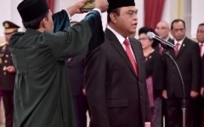 Menteri Pendayagunaan Aparatur Negara dan Reformasi Birokrasi , Syafruddin Dilantik
