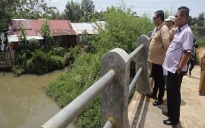 Antisipasi Banjir, Komisi III DPRD Kepri Tinjau Lima Titik Saluran Air di Batam