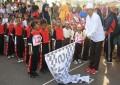 Pj. Walikota Lepas Peserta Gerak Jalan Kreasi di Tpi Kota