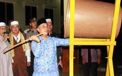 Wabup Lepas Konvoi Takbir Idul Adha di Daik