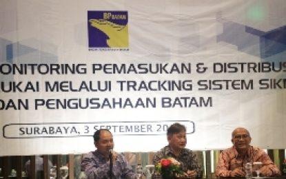 BP Batam Berikan Sosialisasi Tracking Sistem Fasilitas Pembebasan Cukai di Surabaya