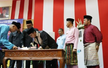 APBD-P 2018 Kabupaten Bintan Capai 1,185 Triliun Rupiah