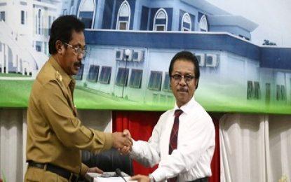 Nurdin Sampaikan Ranperda LPP APBD 2017 – Penguatan Kinerja Penyelenggaraan Pemerintah Daerah